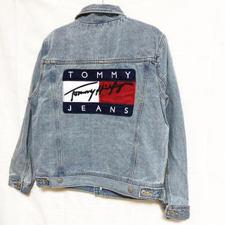 TOMMY HILFIGER - 新品 TOMMY JEANS トミージーンズ デニムジャケット XS