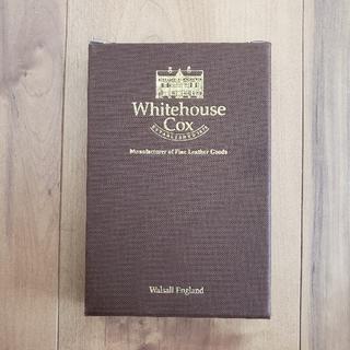 ホワイトハウスコックス(WHITEHOUSE COX)のホワイトハウスコックス 三つ折り財布 外箱(折り財布)