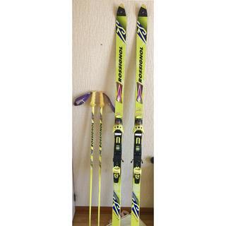 ロシニョール(ROSSIGNOL)のROSSIGNOL ロシニョール スキー 190cm ストック ケースバッグ付き(板)