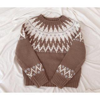 Ungrid - 古着 💐🐻 vintage ノルディック セーター