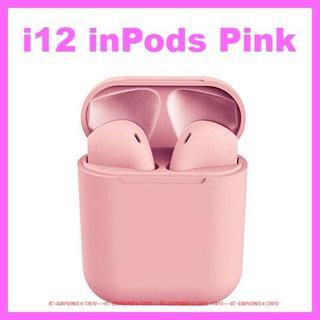【最新 inPods12】★ピンク 完全ワイヤレス Bluetooth イヤホン