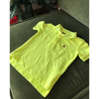 ギャップ(GAP)のレモンイエローのGAPのポロシャツ (シャツ/カットソー)