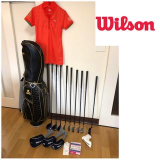 wilson - ウィルソン ベアー レディースゴルフクラブセット