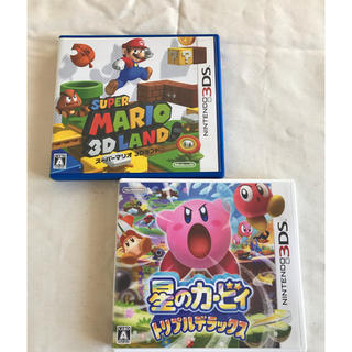 ニンテンドー3DS - 星のカービィ マリオ 3DSソフト