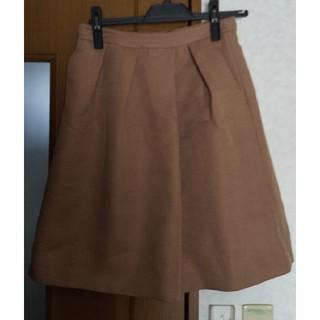 CLEAR IMPRESSION - クリアインプレッション 地模様スカート