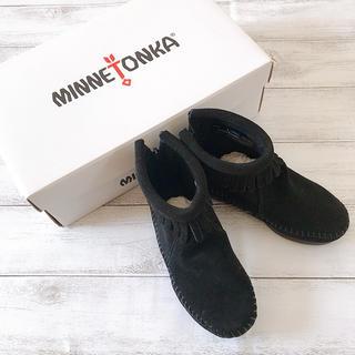 ミネトンカ(Minnetonka)の【新品未使用】ミネトンカ ショートブーツ 14cm キッズ ベビー(ブーツ)