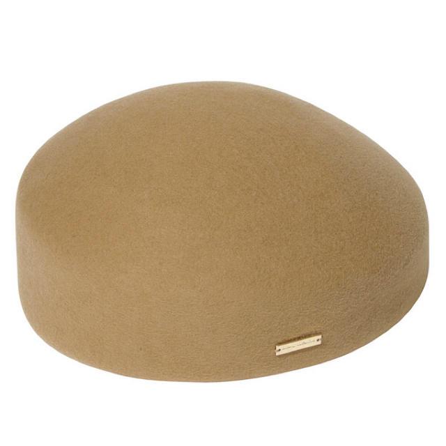 eimy istoire(エイミーイストワール)のeimy istoire トークハット ベージュ レディースの帽子(ハット)の商品写真