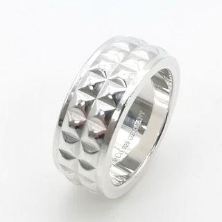 ティファニー(Tiffany & Co.)の希少 美品 ティファニー スタッズ シルバー リング 12号 CQ32(リング(指輪))