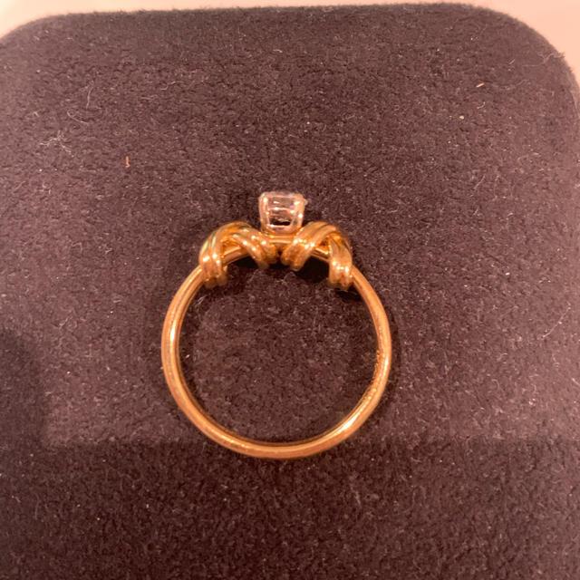 Tiffany & Co.(ティファニー)の美品 値下げ可能 ティファニー ダイヤモンド リング K18 750 レディースのアクセサリー(リング(指輪))の商品写真