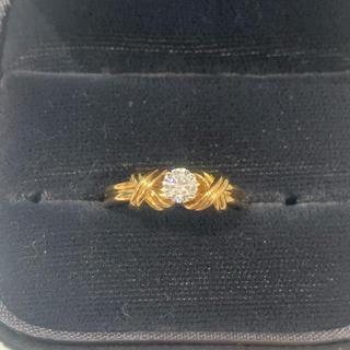 ティファニー(Tiffany & Co.)の美品 値下げ可能 ティファニー ダイヤモンド リング K18 750(リング(指輪))