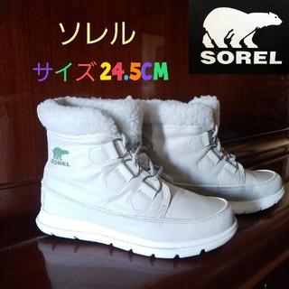 ソレル(SOREL)のスマイル様専用【SOREL】✱使用回数少✱スノーブーツ✱(ブーツ)
