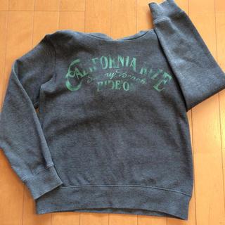 イッカ(ikka)のフード付きトレーナー  150サイズ(Tシャツ/カットソー)