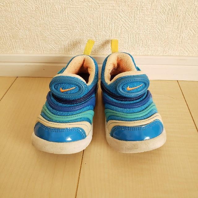 NIKE(ナイキ)の大きめ14㎝:NIKEダイナモフリー キッズ/ベビー/マタニティのキッズ靴/シューズ(15cm~)(スニーカー)の商品写真