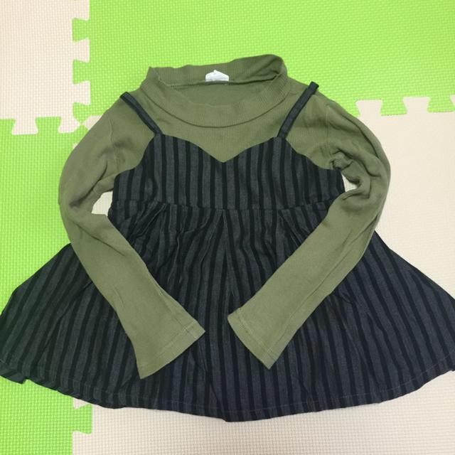 BREEZE(ブリーズ)のBREEZEトップス(チュニック) キッズ/ベビー/マタニティのキッズ服女の子用(90cm~)(Tシャツ/カットソー)の商品写真
