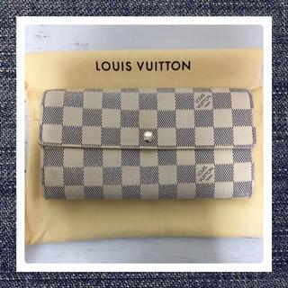 LOUIS VUITTON - LOUISVUITTON✿アズール長財布🌸美品🌸