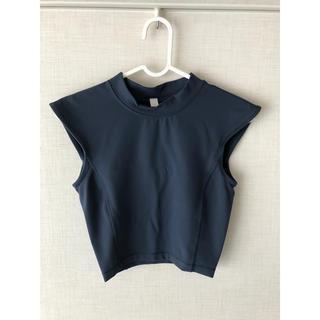 lululemon - lululemon/ショートTシャツ ネイビー