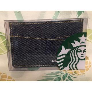 Starbucks Coffee - Starbucks スターバックス スタバ ダークデニムカードホルダー ケース付