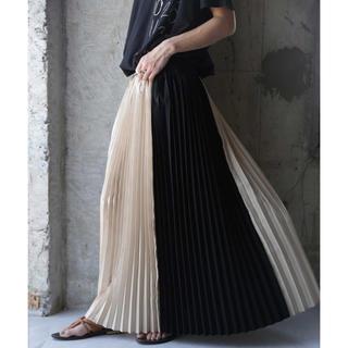 アンティカ  プリーツ スカート  新品未使用 タグ付き