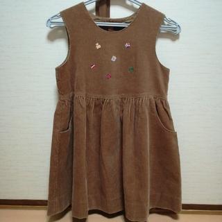 familiar - ファミリア120ジャンバースカート