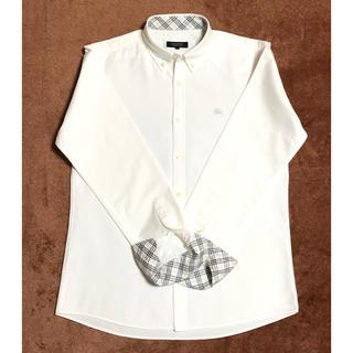 BURBERRY - 一回着用バーバリーブラックレーベル シャツ 長袖