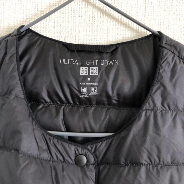 UNIQLO(ユニクロ)の【お値下げしました】UNIQLO ウルトラライトダウンコンパクトベスト 2way レディースのジャケット/アウター(ダウンベスト)の商品写真