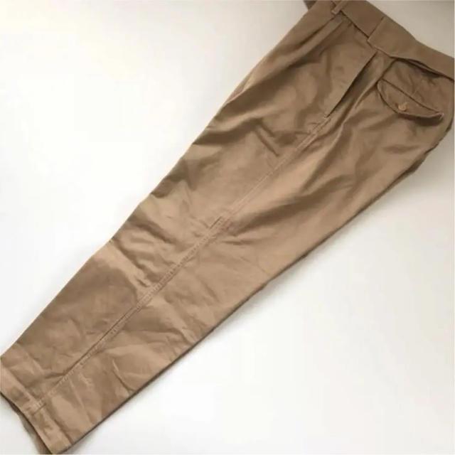 COMOLI(コモリ)の17ss comoli サイズ1 ベルテッドチノパンツ コモリ  メンズのパンツ(チノパン)の商品写真