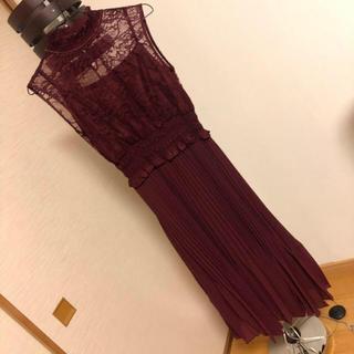 LagunaMoon - 値下げ‼️ファッションレター ロングドレス