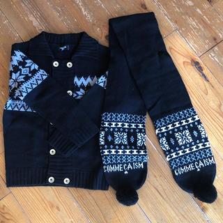 コムサイズム(COMME CA ISM)のセーター&マフラーセット(マフラー/ストール)
