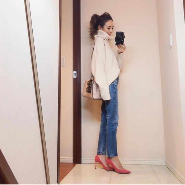 ZARA(ザラ)の星玲奈さん愛用 ベースメント タートルニット レディースのトップス(ニット/セーター)の商品写真