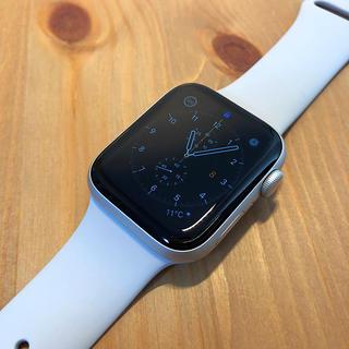 アップル(Apple)のApple Watch Series5 アルミ/シルバー 44mm GPS(腕時計(デジタル))