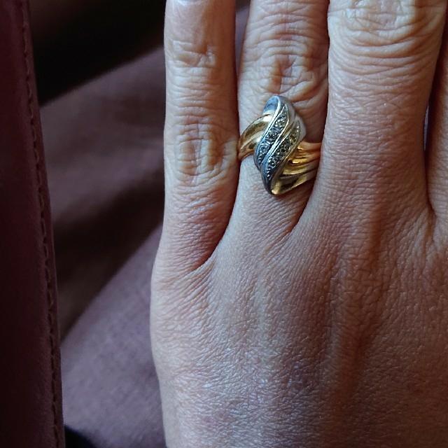18金プラチナダイヤリング❤️最終セール❤️ レディースのアクセサリー(リング(指輪))の商品写真