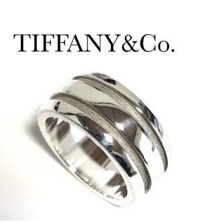 Tiffany & Co. - ティファニー ラウンド ボリューム リング シルバー 10号