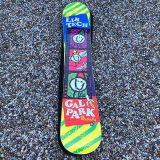 リブテック(LIB TECH)のスノーボード 板 LIB GALPARK BANANA 142 ケース付(ボード)