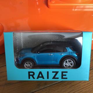 トヨタ - TOYOTA(トヨタ)RAIZE(ライズ)プルバックミニカー青黒ツートンカラー