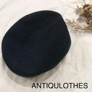 ベレー帽ANTIQULOTHES(ハンチング/ベレー帽)