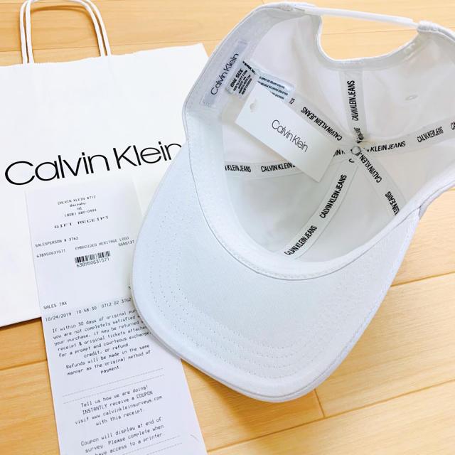 Calvin Klein(カルバンクライン)の★Calvin Klein Jeans 大人気のCKロゴ刺繍ユニセックスキャップ メンズの帽子(キャップ)の商品写真
