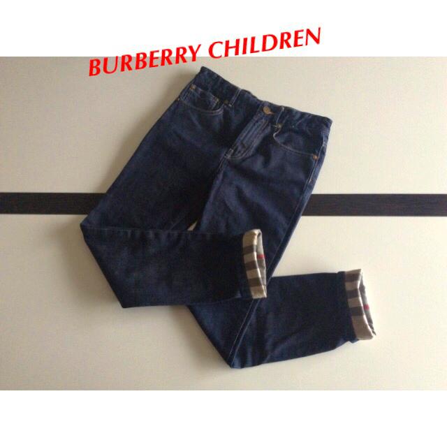 BURBERRY(バーバリー)の BURBERRY CHILDREN⭐️パンツ 140 キッズ/ベビー/マタニティのキッズ服男の子用(90cm~)(パンツ/スパッツ)の商品写真