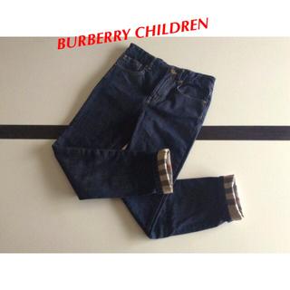 BURBERRY -  BURBERRY CHILDREN⭐️デニム ジンーズ 140