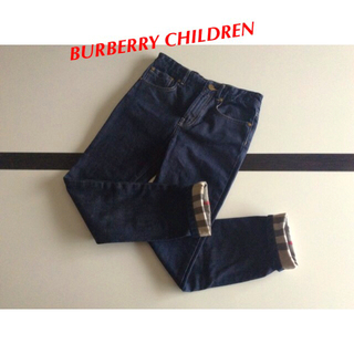 BURBERRY -  BURBERRY CHILDREN⭐️パンツ 140