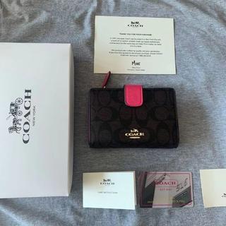 COACH - 人気 (COACH )二つ折り 財布F53562