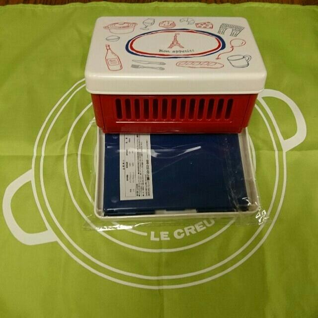 LE CREUSET(ルクルーゼ)のサンドイッチケース  ル・クルーゼ インテリア/住まい/日用品のキッチン/食器(弁当用品)の商品写真