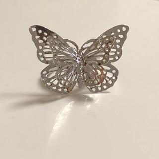 Kastane - lattice リング☺︎❤︎蝶々 蝶 バタフライ 蝶々リング