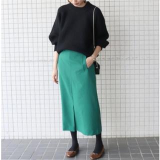 IENA SLOBE - SLOBE IENA ウーリッシュサイドポケットスカート★未使用
