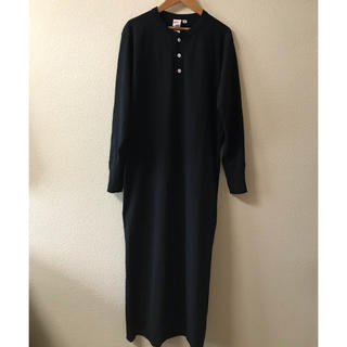 BEAMS BOY - 【美品】BEAMSBOYヘルシンキニットTシャツワンピ長袖黒