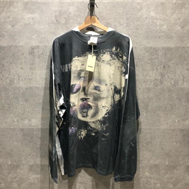 Balenciaga(バレンシアガ)のvetements 19ss 転写プリントカットソー ヴェトモン メンズのトップス(Tシャツ/カットソー(半袖/袖なし))の商品写真