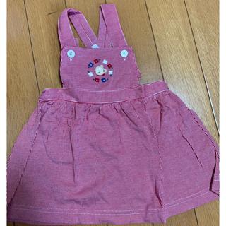 familiar - familiar サロペットスカート