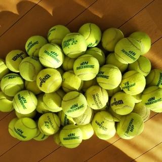 中古硬式テニスボール(54個)(ボール)