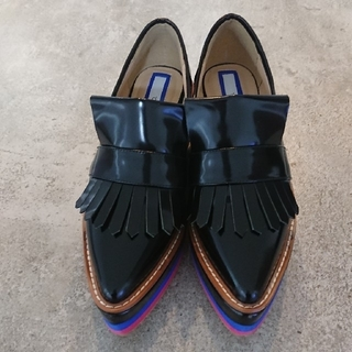 UN3D BORDER SOLE LOAFER ボーダーソールローファー