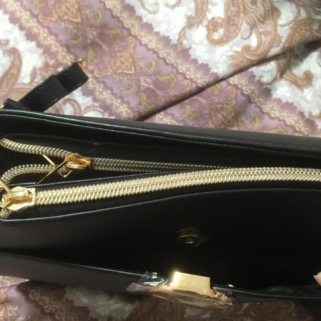 しまむら(シマムラ)の新品しまむらショルダーバッグ黒 レディースのバッグ(ショルダーバッグ)の商品写真