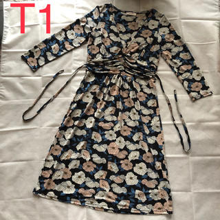 armoire caprice - 美品♡アーモワールカプリス♡フィフィーユ♡フランス製ワンピース♡Mサイズ相当
